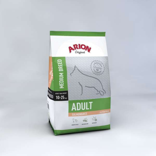 Arion Adult Dog | Medium-Breed | Lachs & Reis | Hundefutter