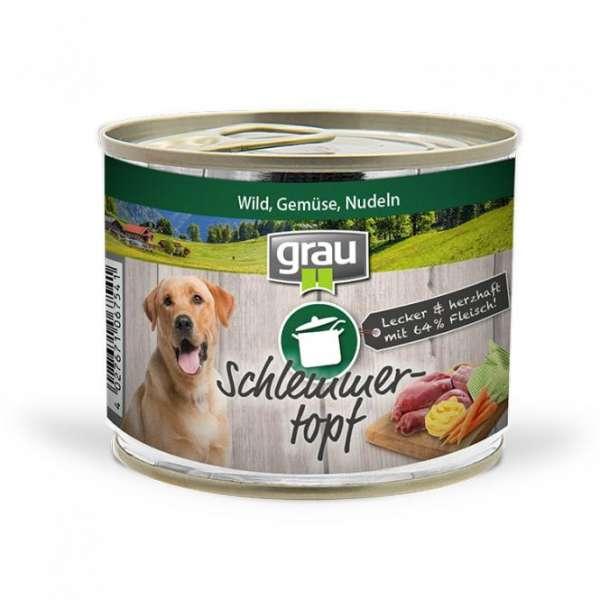 Grau Schlemmertopf | Wild, Gemüse, Nudeln