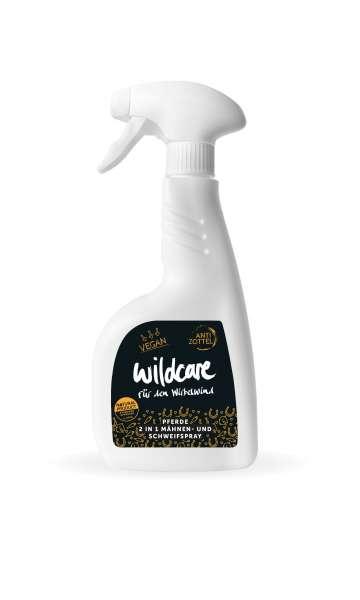 Wildcare Pferde 2in1 Mähnen & Schweifspray | 500 ml Anti Zottel