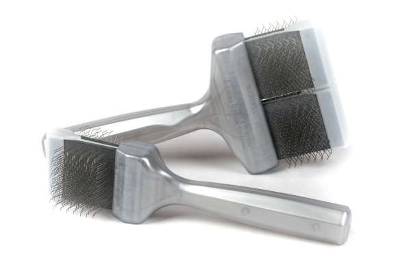 ActiVet Coat Grabber, silber, starke Finish-Bürste