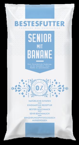 Bestesfutter Senior Banane | gluten- & getreidefreies Hundefutter