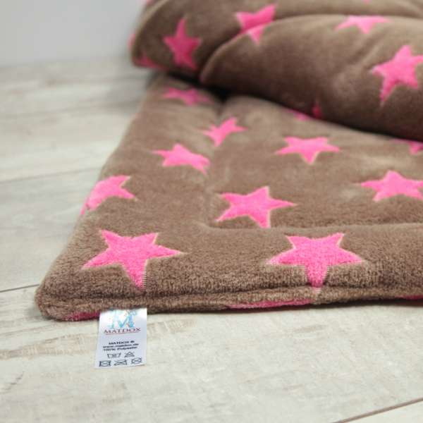 Matdox Fleece Decke Stars | superweiche Kuscheldecke