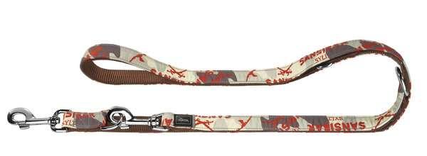 Verstellbare Führleine Krazy Sansibar Camouflage