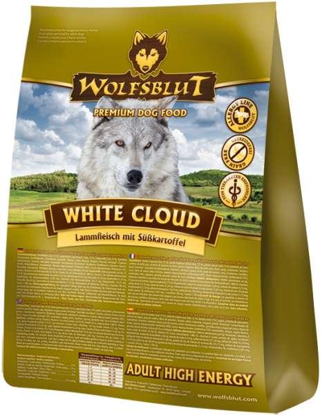 Wolfsblut White-Cloud   Active High-Energy   mit Lamm & Süßkartoffeln