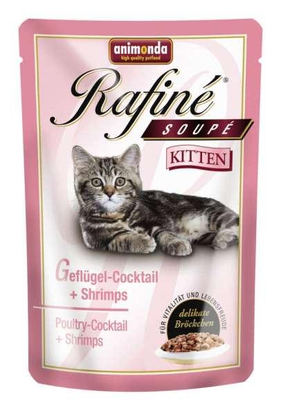 Animonda Rafiné Soupe Kitten | Geflügelcocktail | 6x100g
