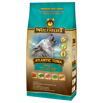 Wolfsblut Atlantic Tuna | mit Thunfisch und Süßkartoffeln | getreidefreies Hundefutter