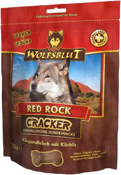 Wolfsblut Red Rock Hundesnack Cracker, mit Kängurufleisch, 225g