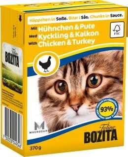 Bozita-Häppchen in Soße, mit Hühnchen & Pute, 6x370g
