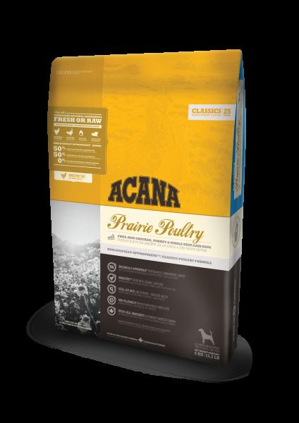 Acana Classics Prairie Poultry   mit Huhn   getreidefreies Hundefutter
