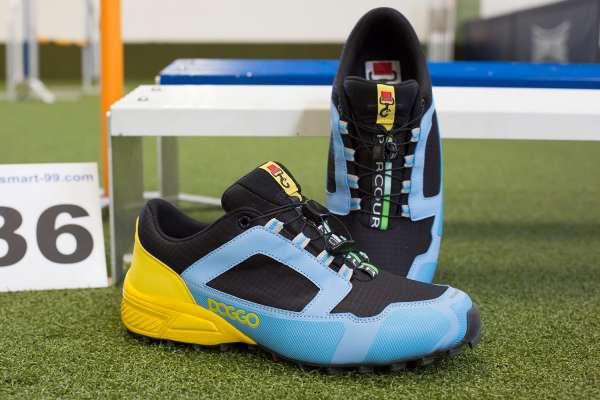 Doggo Parcours | Agility-Schuh | blau-gelb