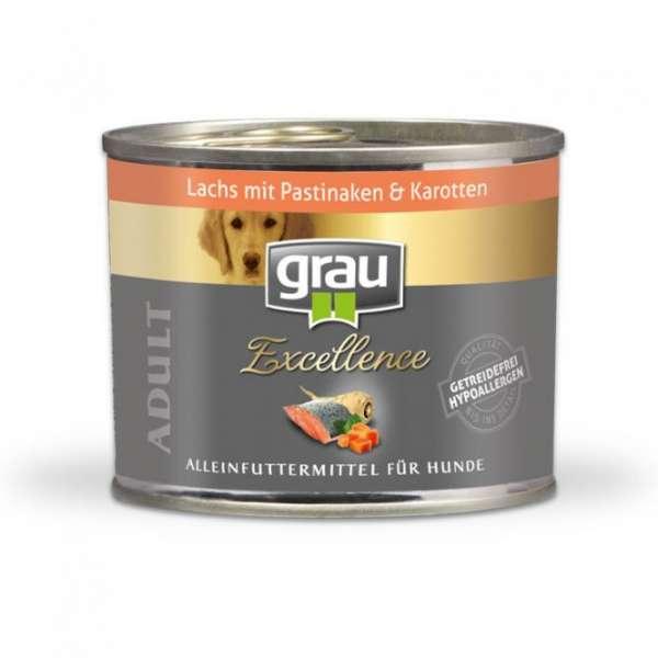 Grau Excellence | Lachs mit Pastinaken & Karotten